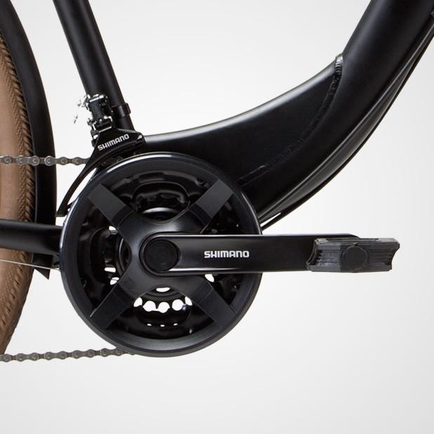 Bicicleta Groove Urban MD na cor Preto Fosco