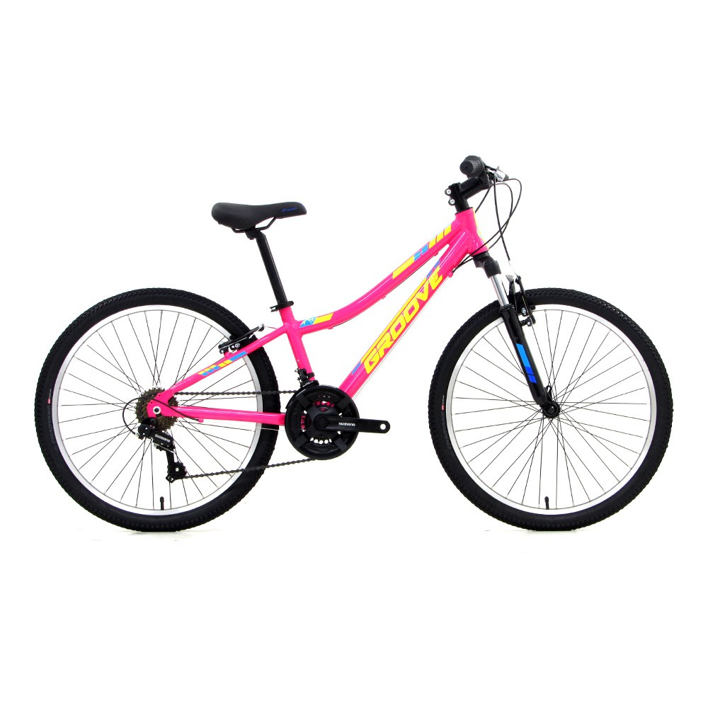 Bicicleta Infantil Groove Indie 24 Alloy na cor rosa