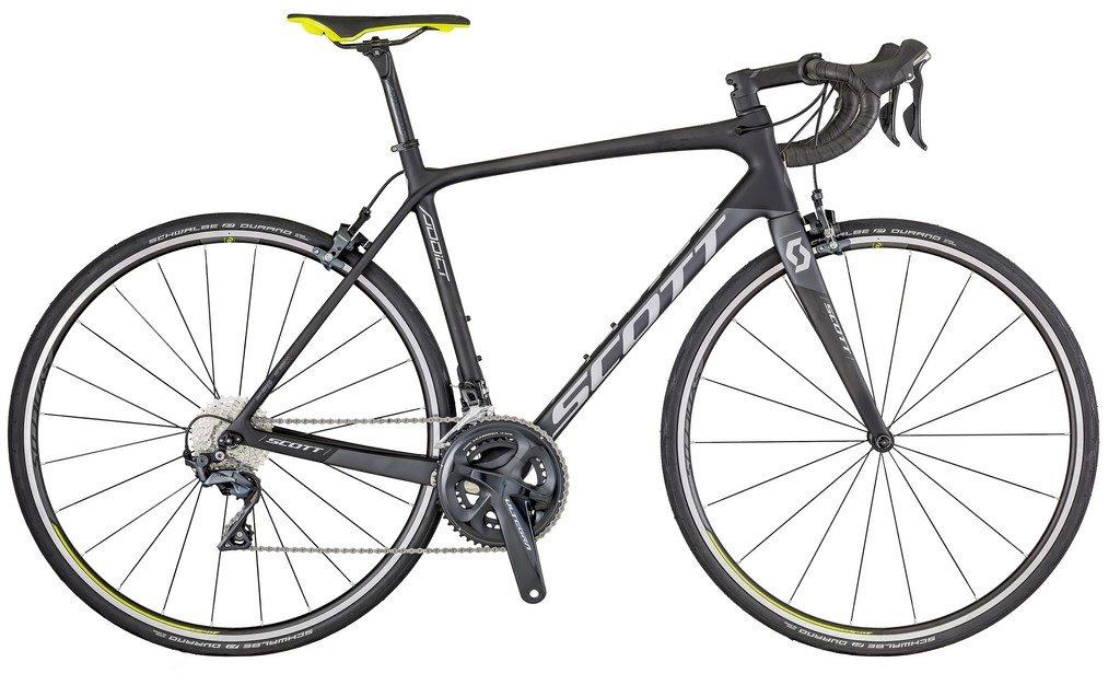 Bicicleta Scott Addict 10 Carbon com Shimano Ultegra R8000 (modelo 2018)