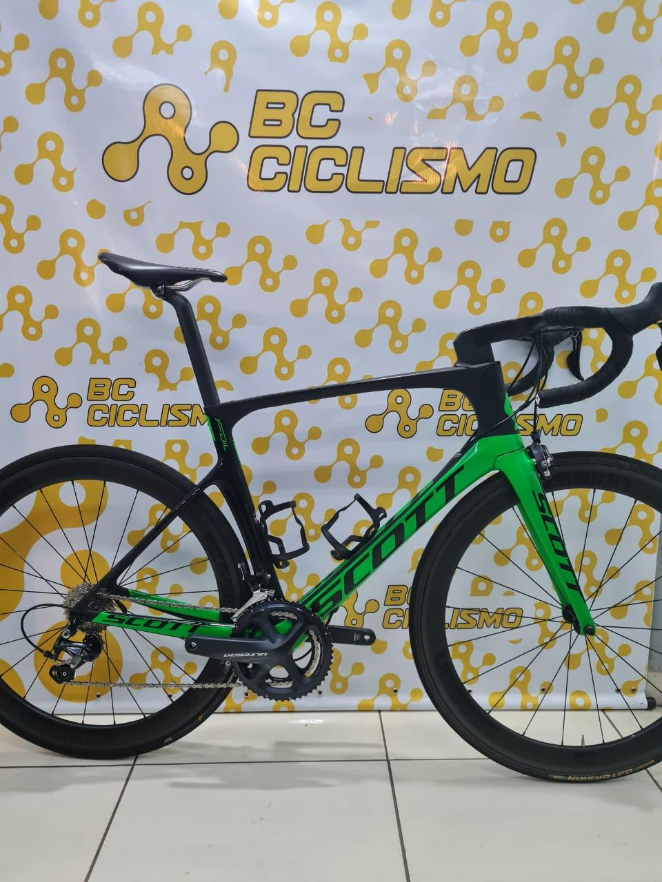 Bicicleta Scott Foil HMX Ultegra - Tamanho 56cm (Produto usado)