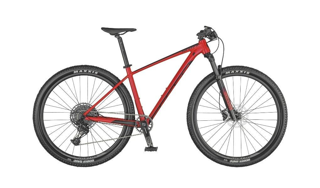 Bicicleta Scott Scale 970 na cor vermelho (modelo 2021)