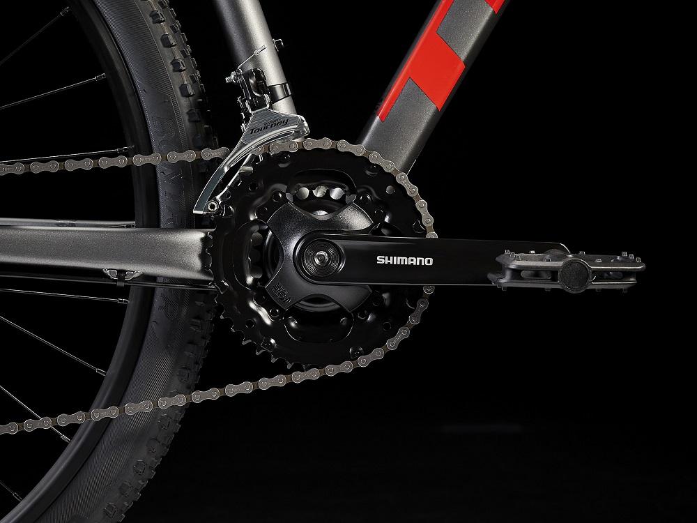 Bicicleta Trek Marlin 4 na cor Matte Anthracite (modelo 2022)