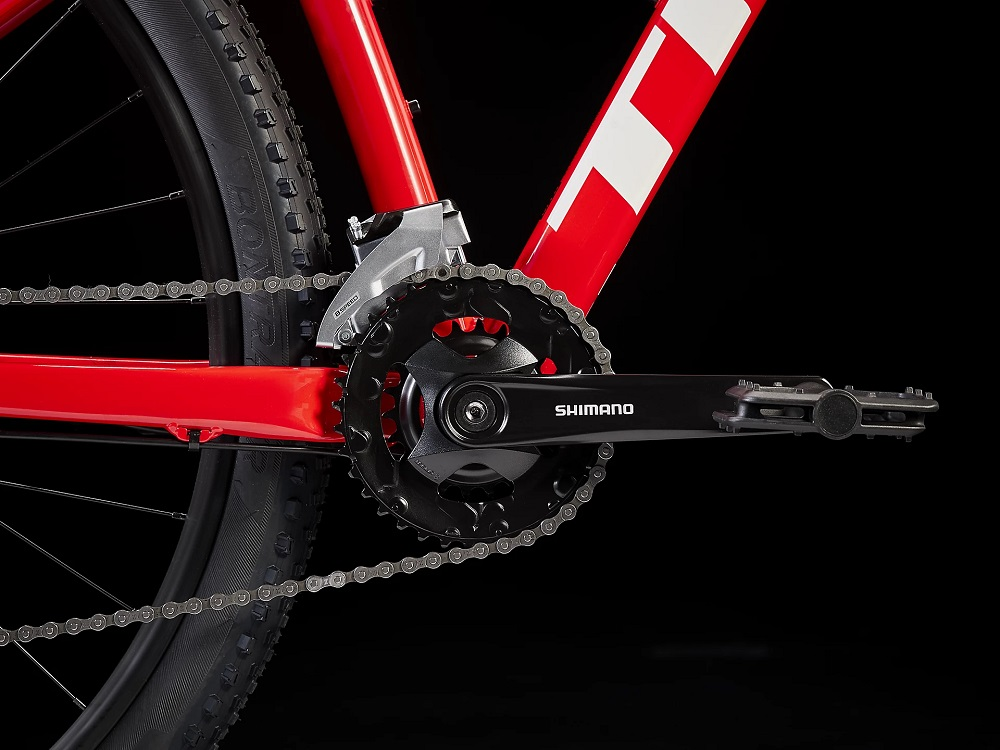 Bicicleta Trek Marlin 5 na cor vermelho (modelo 2022)