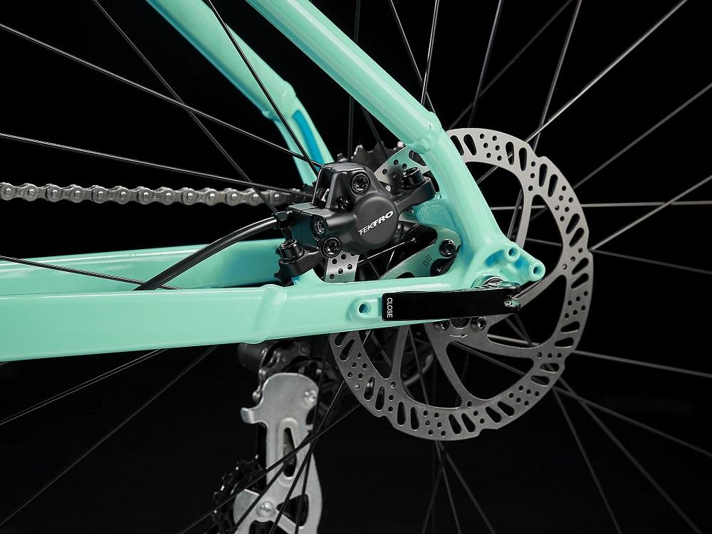 Bicicleta Trek Marlin 5 na cor Volt to Miami Green Fade