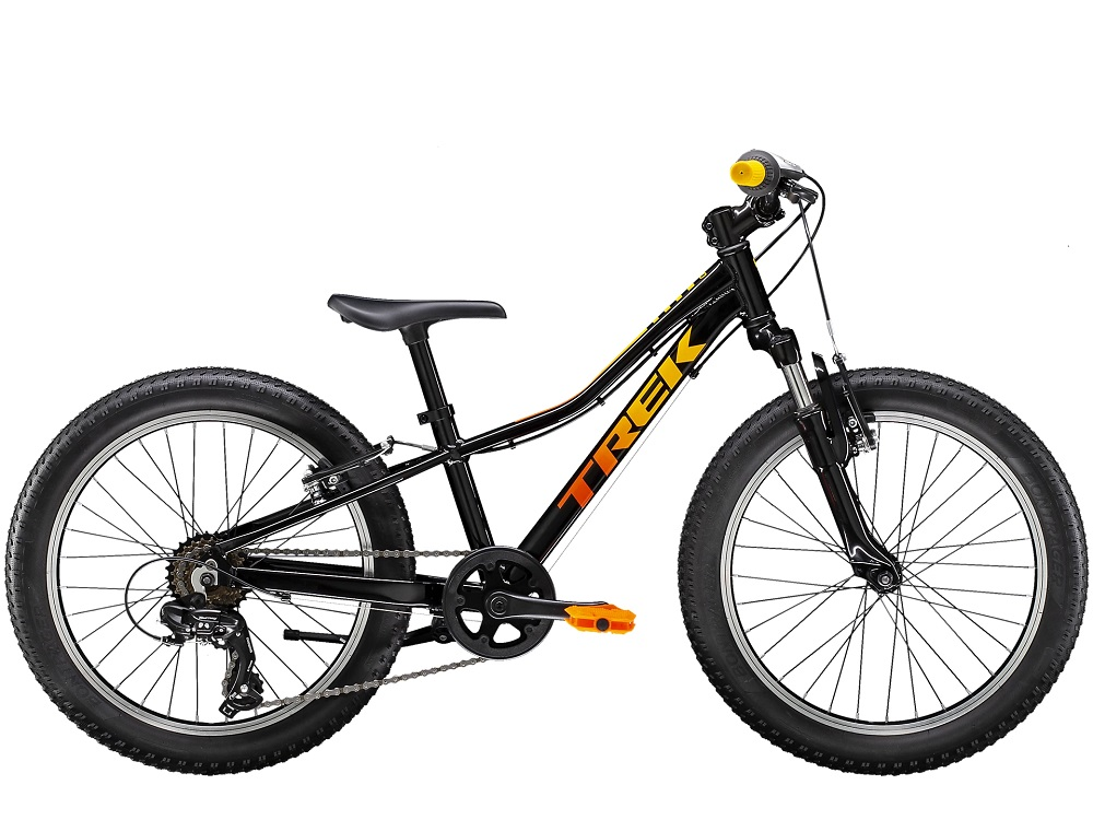 Bicicleta Trek Precaliber 20 com 7 velocidades na Trek Black