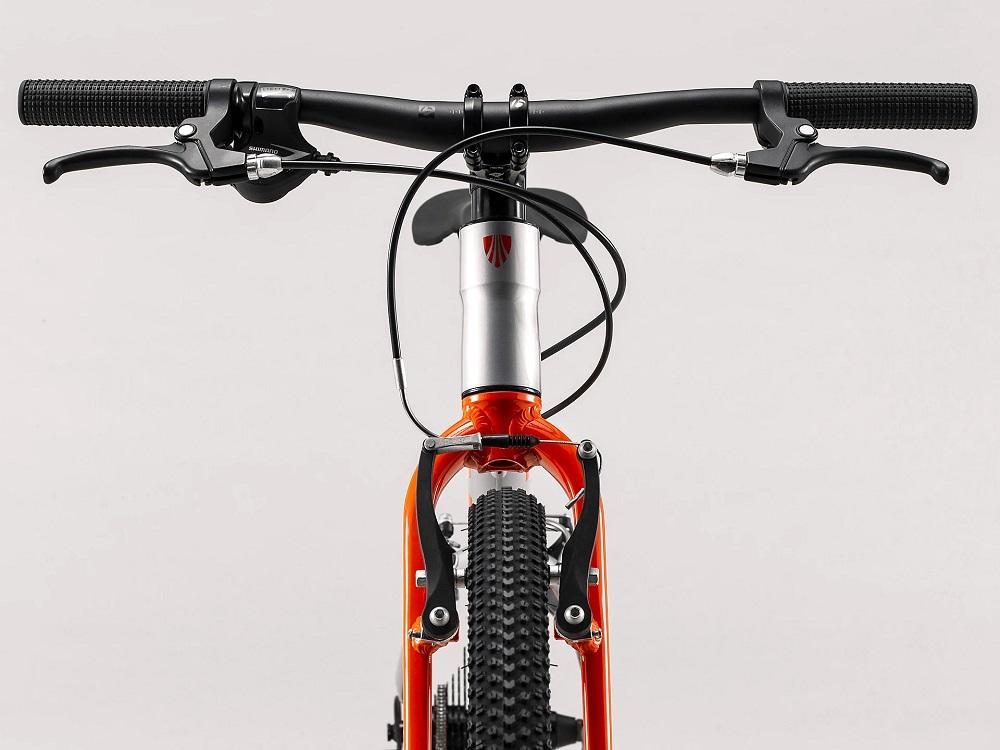 "Bicicleta Trek Wahoo aro 24"" na cor Quicksilver/Roarange"