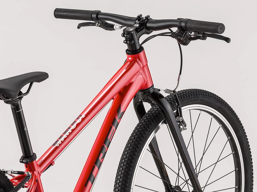"Bicicleta Trek Wahoo aro 24"" na cor Viper Red/Trek Black"