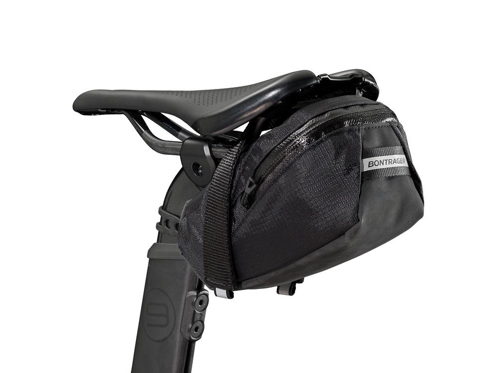 Bolsa de selim Bontrager Elite Seat Pack Grande Preto