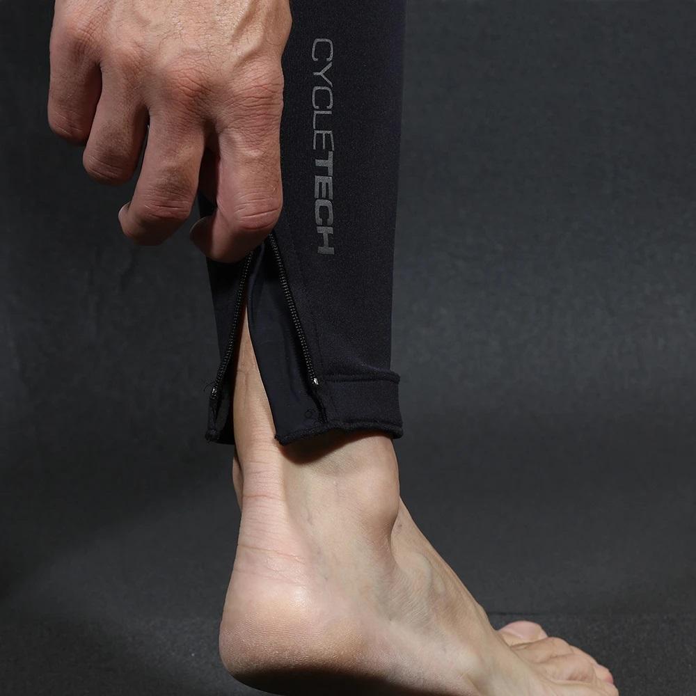 Calça Flets Basic Compression Masculino na cor Preto