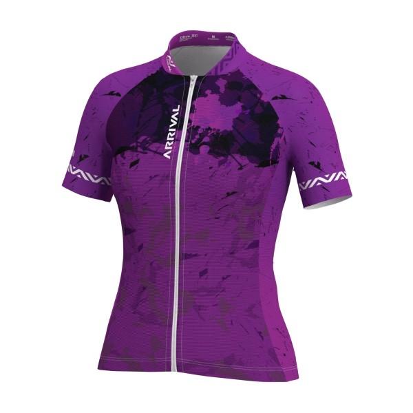 Camisa Arrival Camuflada Roxa (Feminina)