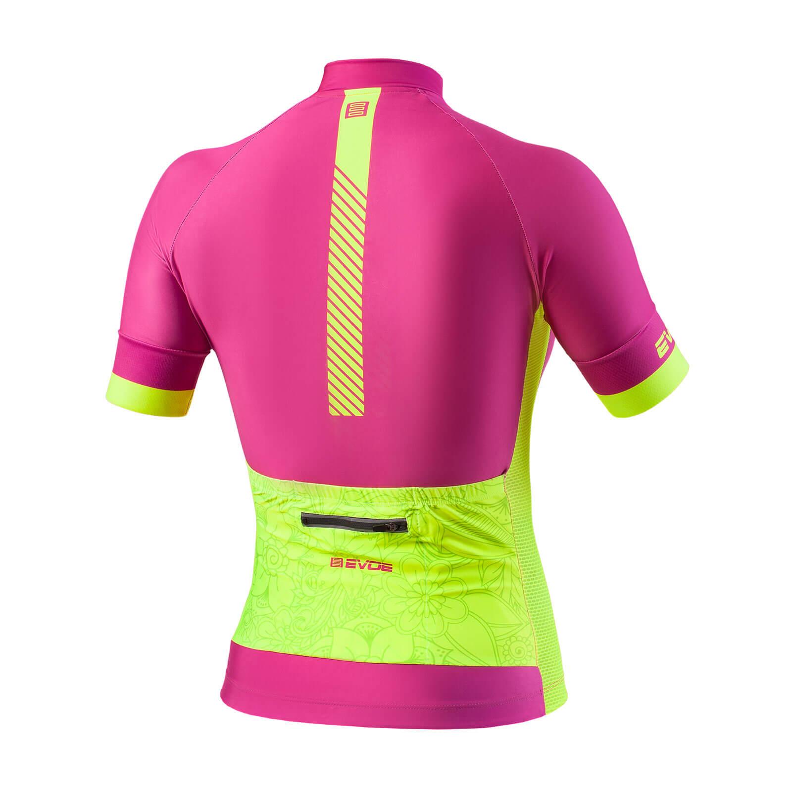 Camisa Evoe feminina na cor Rosa/Neon