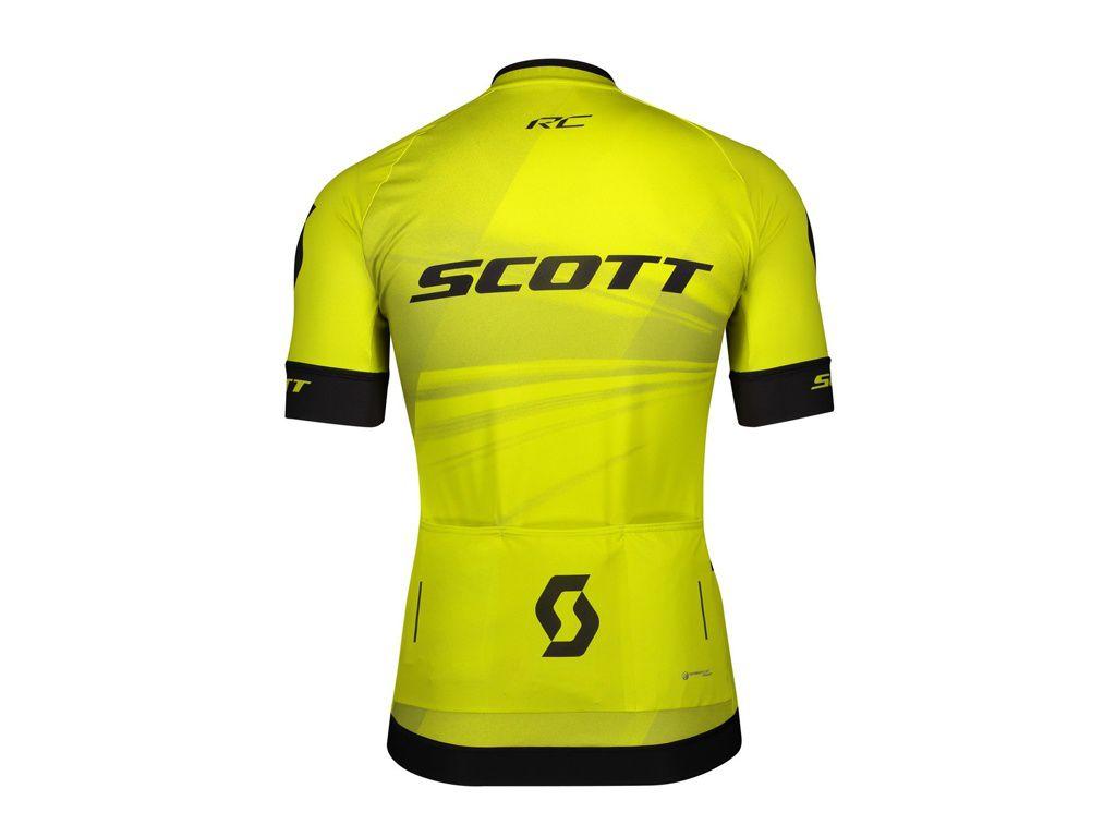 Camisa Scott RC Pro 2020 na cor amarelo (consulte tamanhos)
