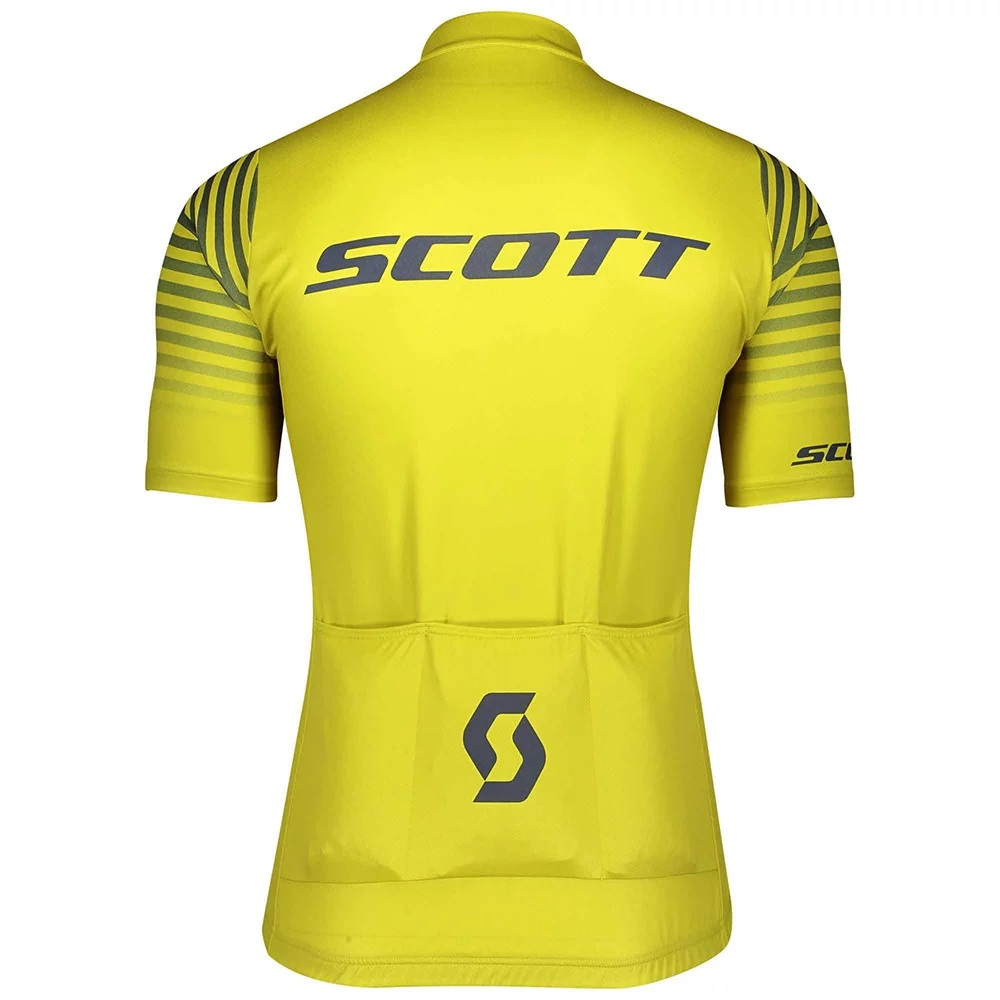 Camisa Scott RC Team 2020 na cor amarelo