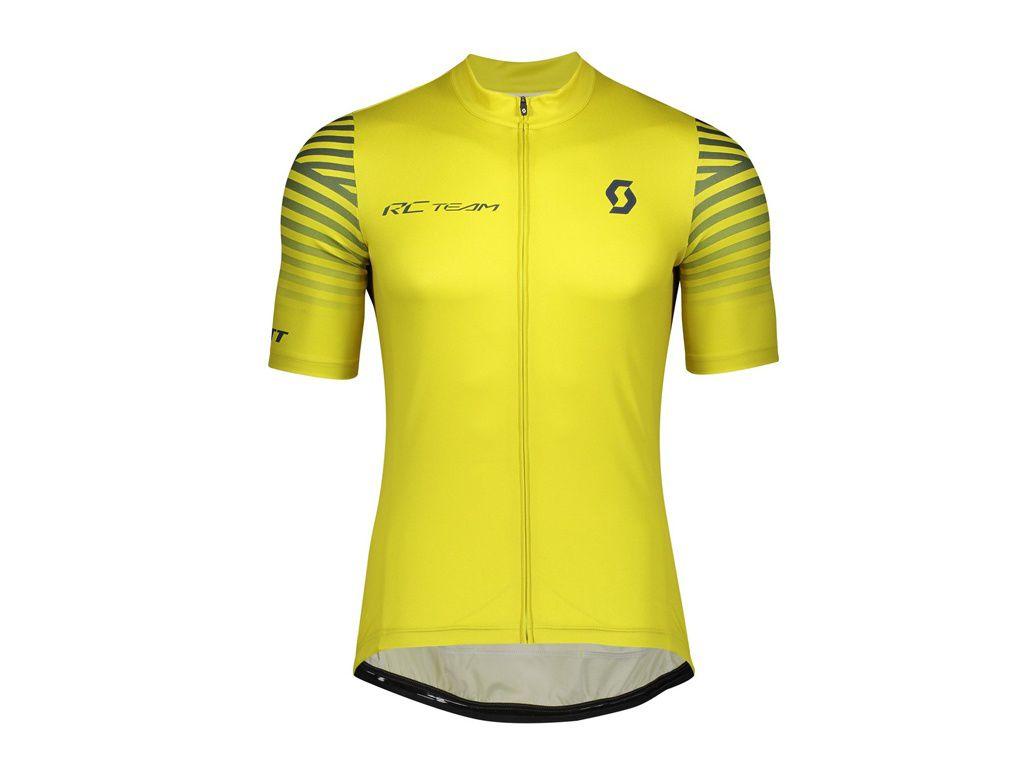 Camisa Scott RC Team 2020 na cor amarelo (consulte tamanhos)