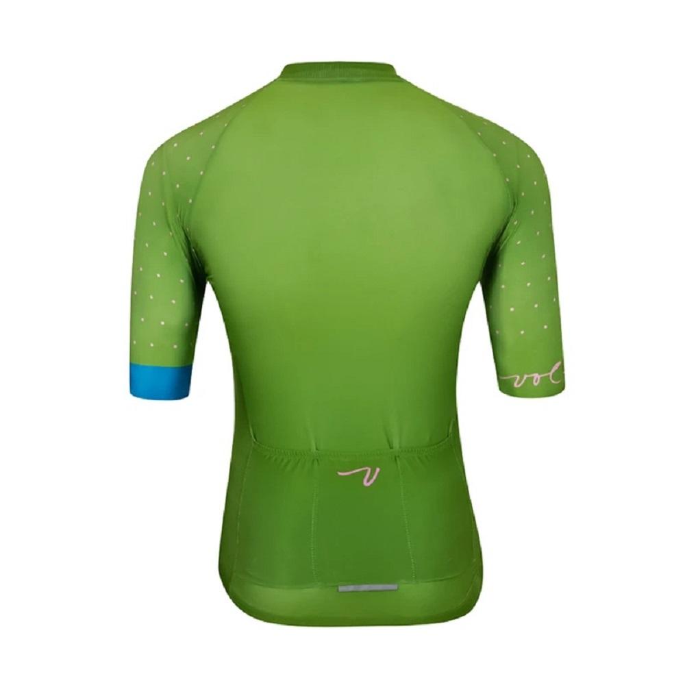 Camisa Volta Speedster Jersey Polka Dot Verde