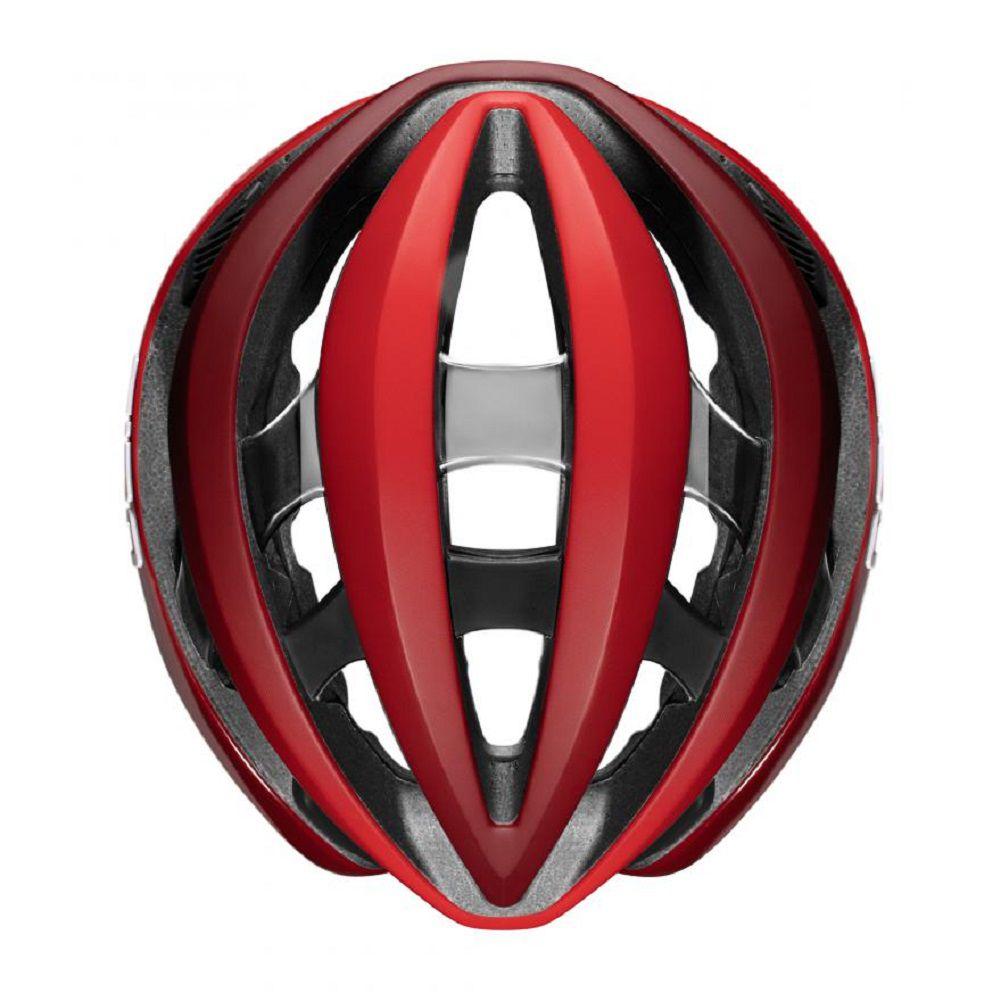 Capacete Giro Aether MIPS na cor Vermelho e preto (tamanho 55-58cm)