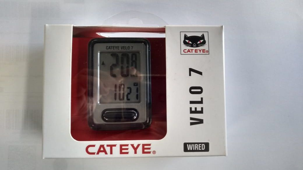 Ciclo Computador Cateye Velo 7