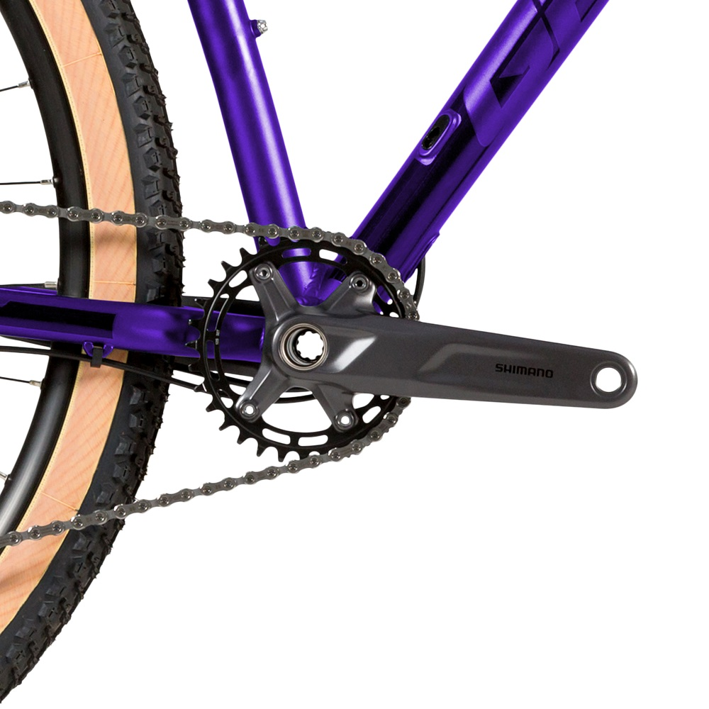 Bicicleta Groove Riff 70 Shimano 12v na cor  Roxo e preto