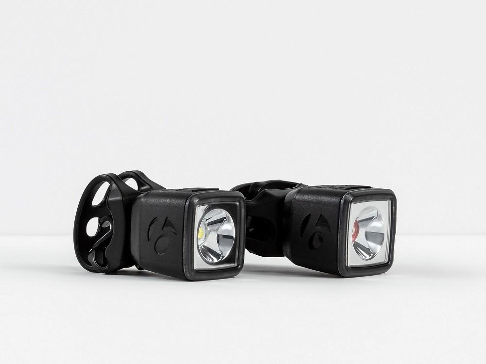 Jogo de lanternas de bicicleta urbana Bontrager Ion 100 R/Flare R