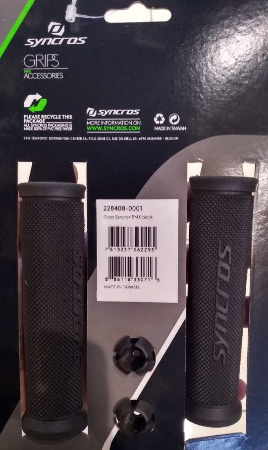 Manopla Syncros Bmx Black