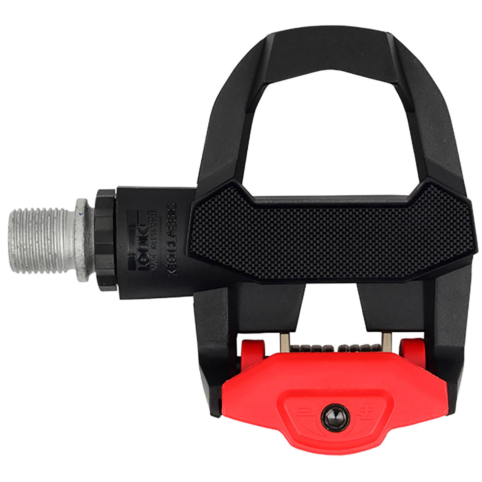 Pedal Look Kéo Classic 3 na cor preto e vermelho