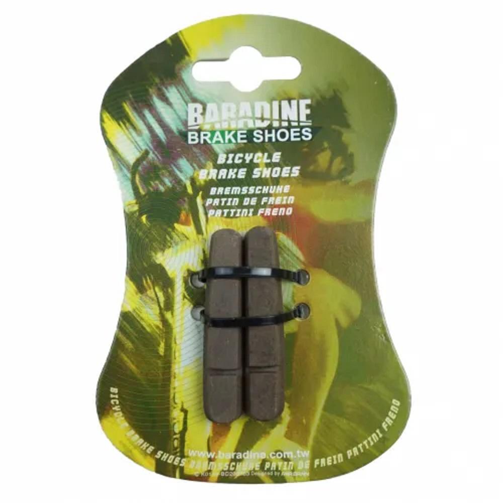 Refil de sapata de freio Baradine 453KA Road Carbon