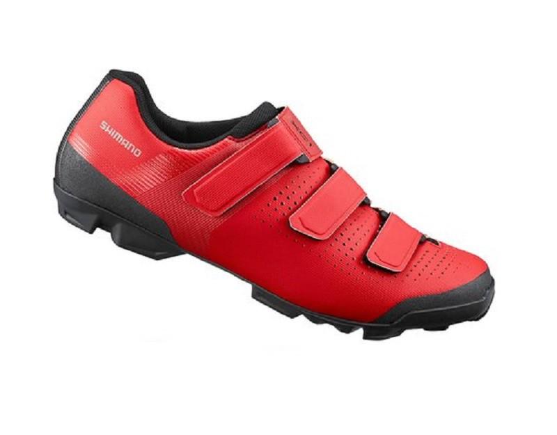 Sapatilha Shimano XC1 para MTB na cor vermelho