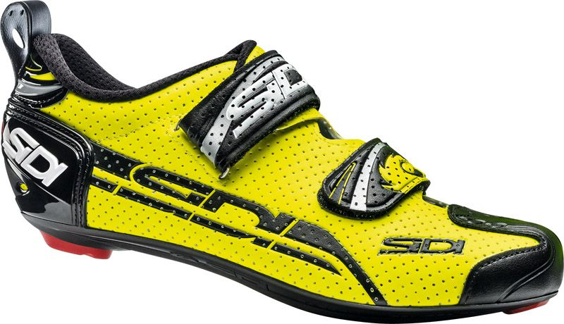 Sapatilha Sidi T4 Air na cor amarelo fluor