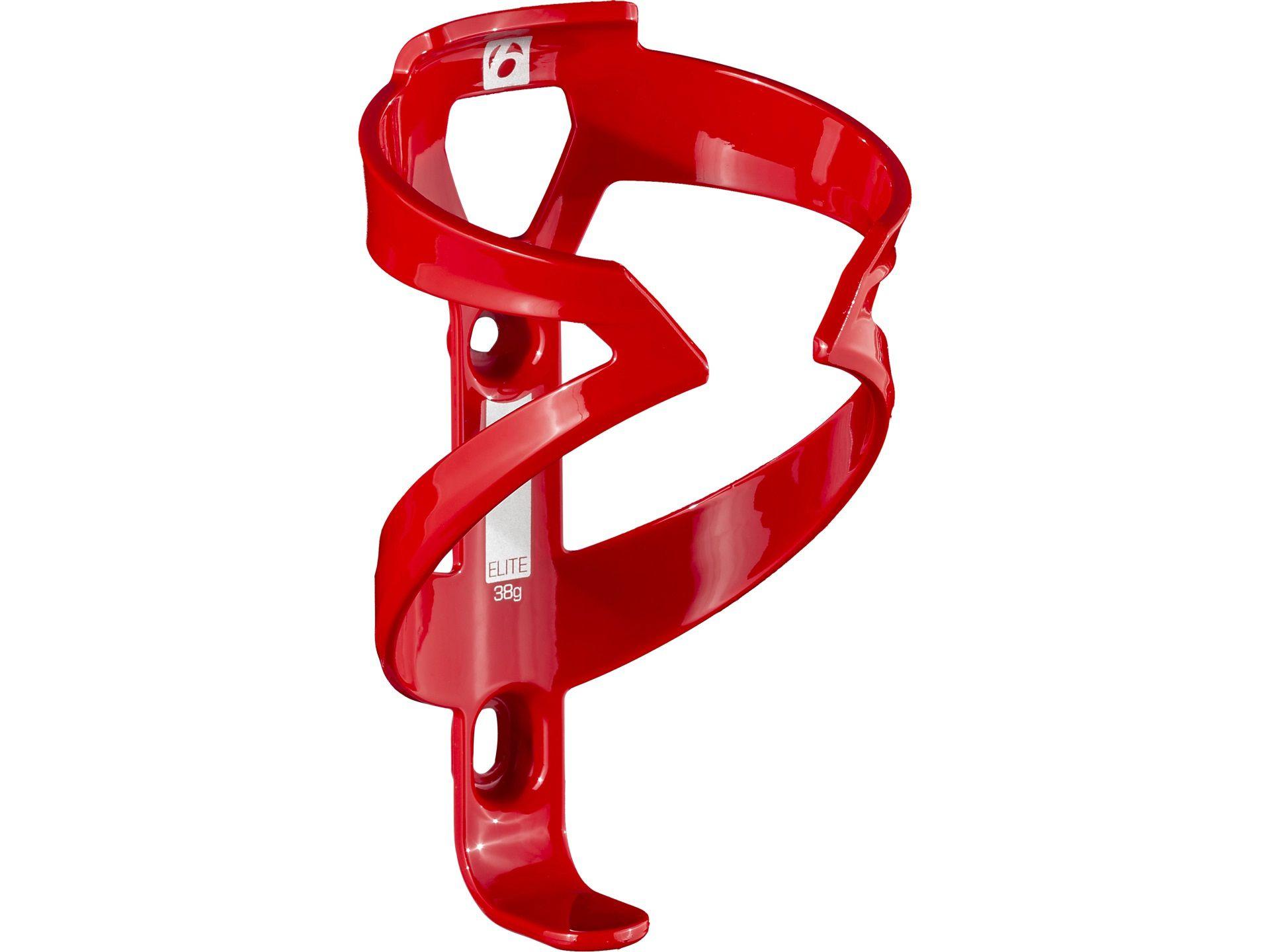 Suporte de caramanhola Bontrager Elite na cor vermelho brilhante