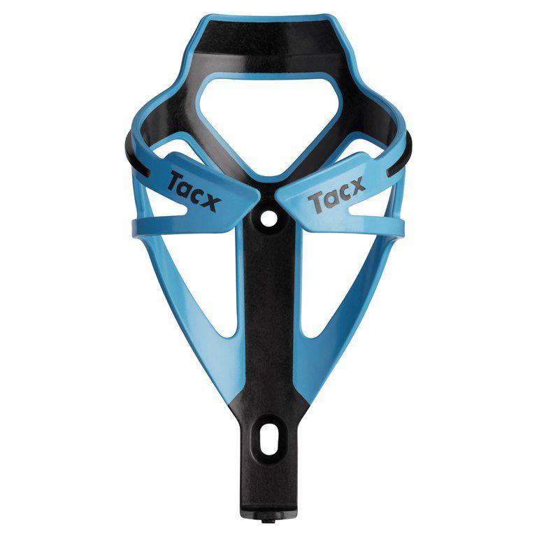 Suporte de caramanhola Tacx Deva na cor azul claro e preto
