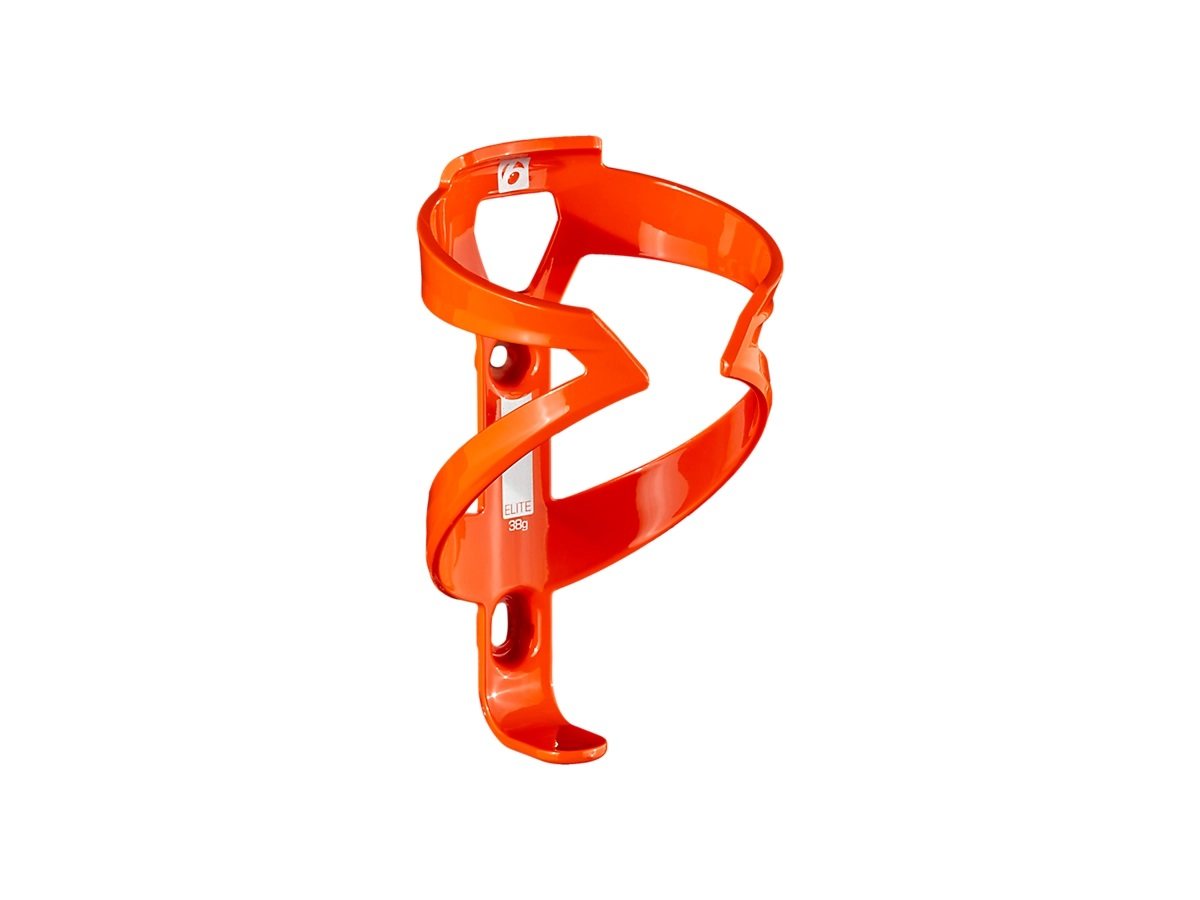 Suporte de garrafa Bontrager Elite na cor laranja