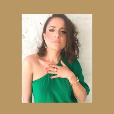 Brinco Dourado Ivis Metal Banhado a Ouro Barbara Strauss
