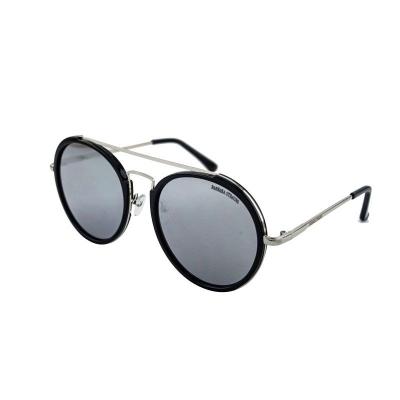 Óculos De Sol Barbara Strauss Blair Em Acetato Preto