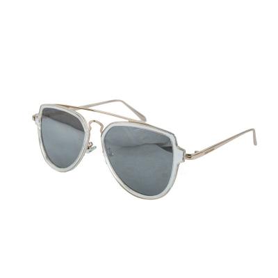 Óculos De Sol Barbara Strauss Cruizer  Em Aço Dourado