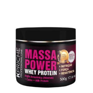 Máscara Massa Power Whey Protein 500g
