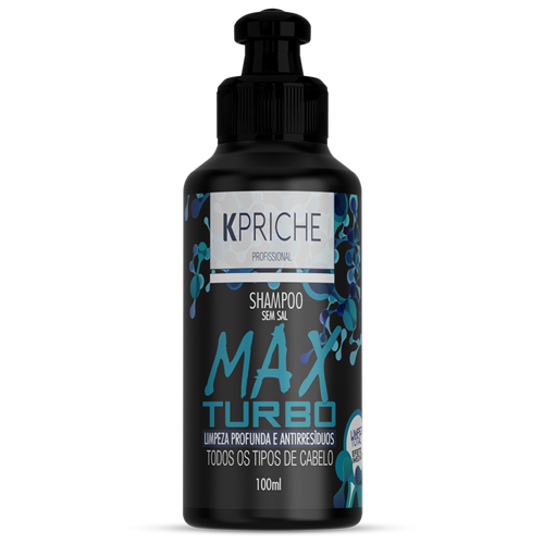 Miniatura Max Turbo Shampoo 100mL