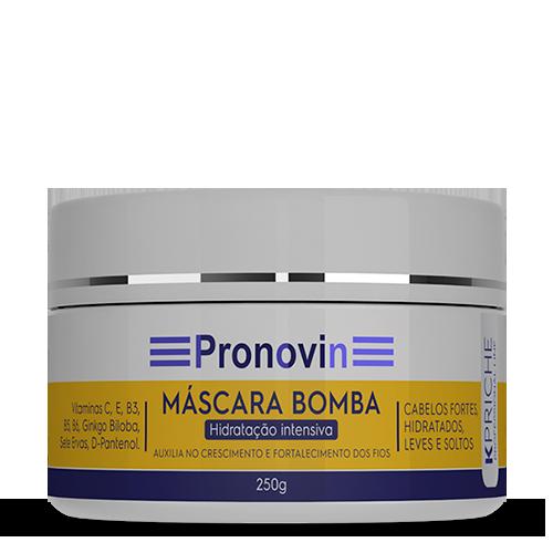 PROMOÇÃO - COMPRE 3 KITS PRONOVIN E GANHE 1 MASCARA BOMBA + 1 TONICO + SUPLEMENTO CAPILAR 30 COMP.