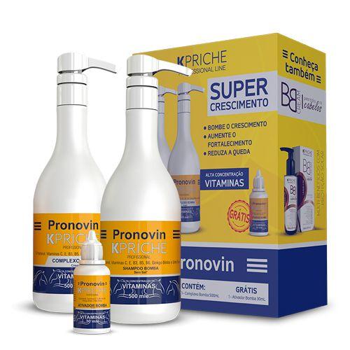 Pronovin Kit Vitamínico Super Crescimento Kpriche