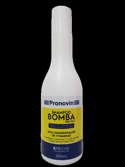 Pronovin Shampoo Bomba Super Crescimento 250mL