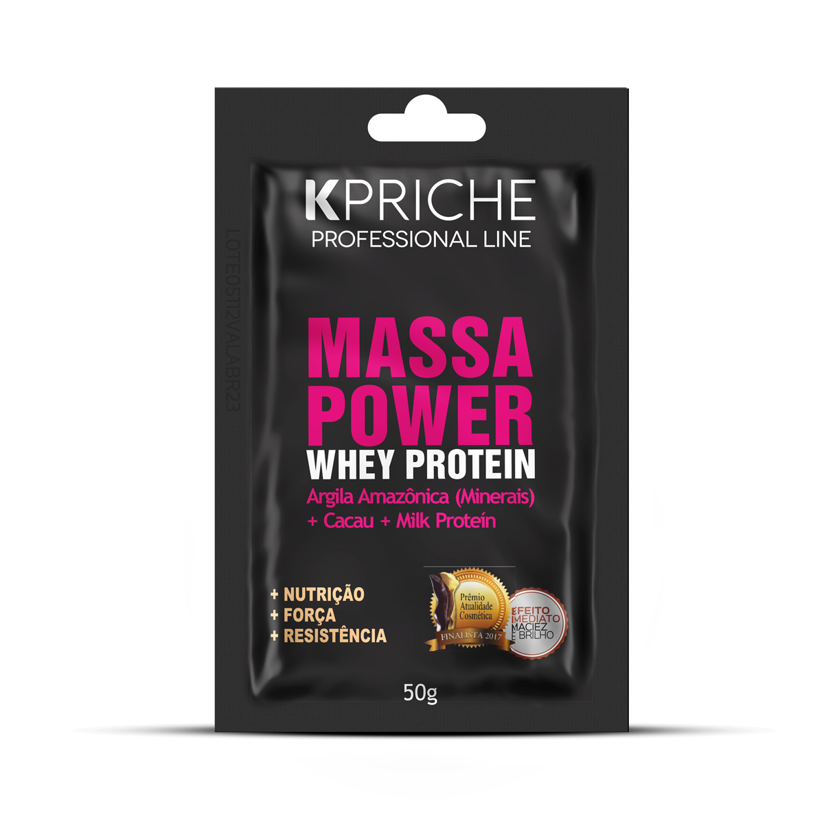 Sachê Máscara Massa Power Whey Protein 50g