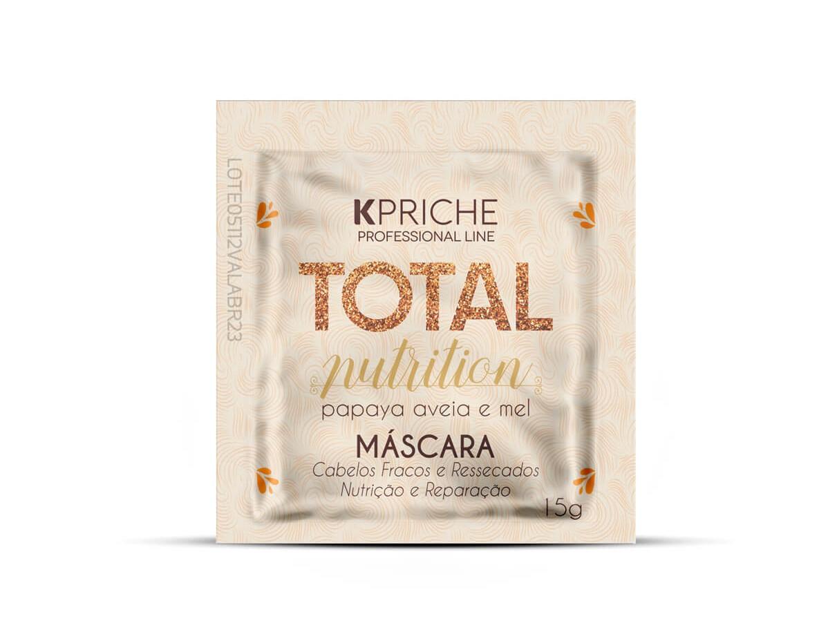 Sachê Total Nutrition Máscara 15G