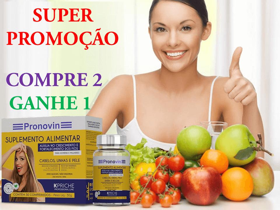 SUPER PROMOÇÃO Pronovin Suplemento Alimentar Kpriche - 30 comprimidos