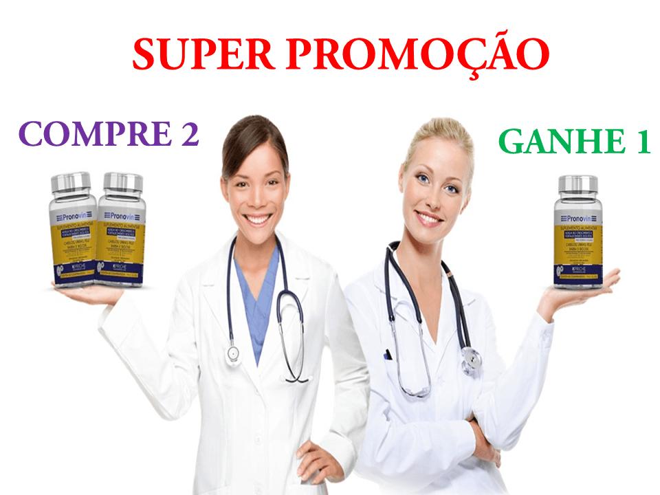 SUPER PROMOÇÃO Pronovin Suplemento Alimentar Kpriche - 60 comprimidos