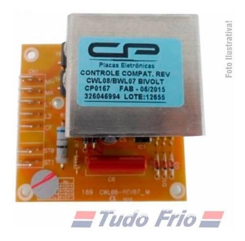 Placa Controle Reversão Lavadora W10670148 - 326046994