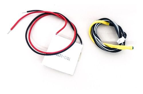 Pastilha Placa Termoelétrica Peltier + Sensor Latina Moderna
