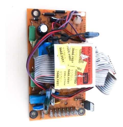 Placa Brastemp Lavadora Modelo Bwm08 Potencia 220v Original