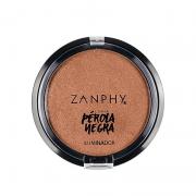 Iluminador Compacto Peróla Negra- Zanphy