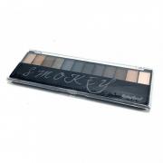 Paleta de sombras 12 cores, 1 Primer - Smokey - Ruby Rose