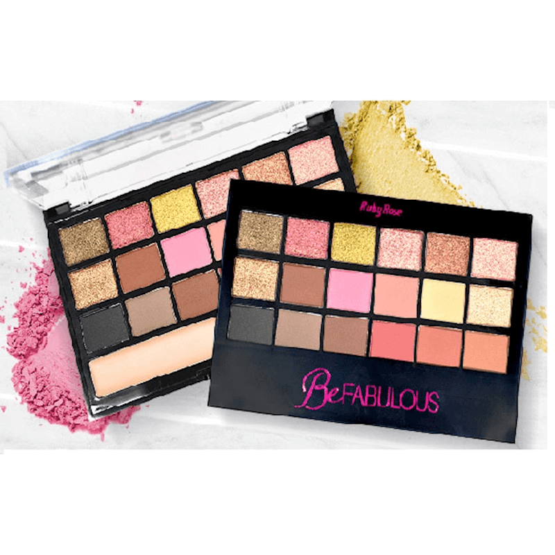 Be Fabulous Paletas de Sombras HB 9931