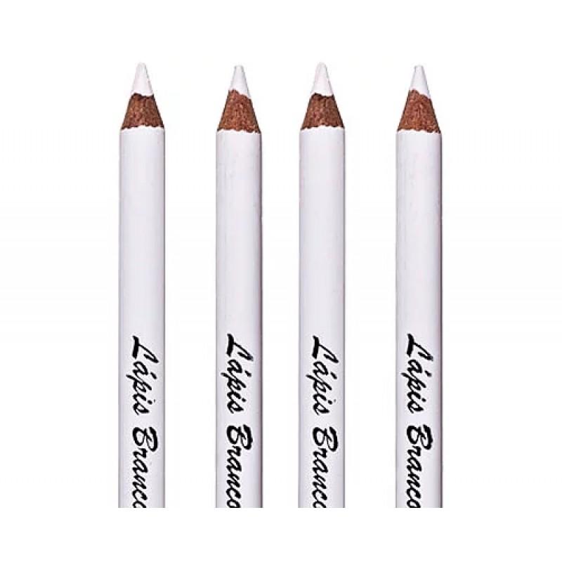 Lápis de Olhos Branco 0.7g com apontador - Bella Femme